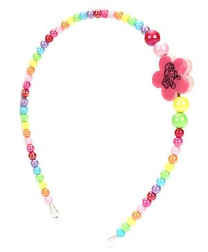 Barbie Beaded Hair Band - Multi Color