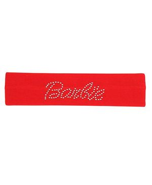 Barbie Headband Stone Work - Red