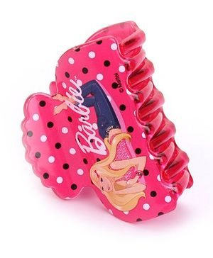 Barbie Hair Clutcher Butterfly Clip - Pink