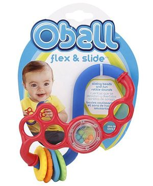 Bright Starts O Ball Flex & Slide Teether