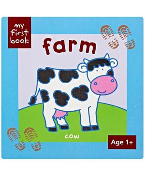 My First Book Farm Cow