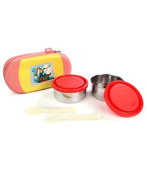 Cello Homeware Get Eat Lunch Pack - Yellow & Peach