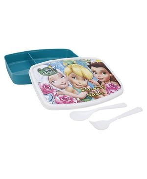 Cello Homeware Disney Fairies Lunch Box - Green