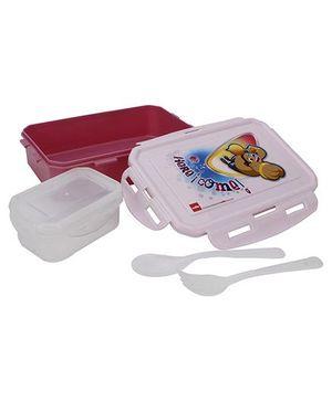 Cello Homeware Here I Come Print Lunch Box - Pink