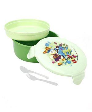 Cello Homeware Polo Lunch Box Round - Green