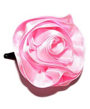 Bling & Bows Hairclip - Baby Pink