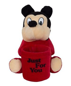 O Teddy Cute Toy Pen Holder - Red