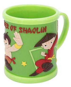 Archies Mug Master of Shaolin Design Green - 300 ml