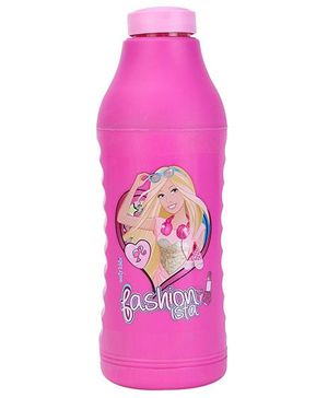 Barbie Sipper Water Bottle Pink - 550 ml