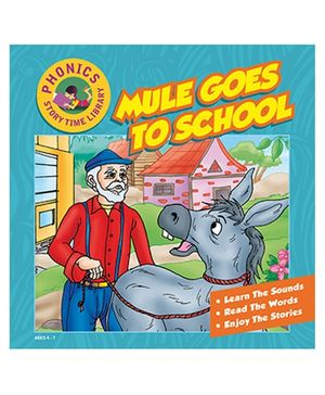 Story Time Library Phonics Mule Goes To School Story