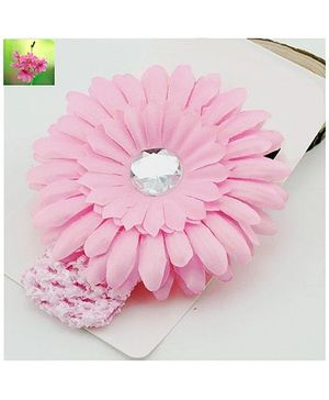 Cherry Blossoms Pretty Flower Motif Hairband - Pink
