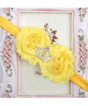 Pikaboo Headband Crown Applique - Yellow