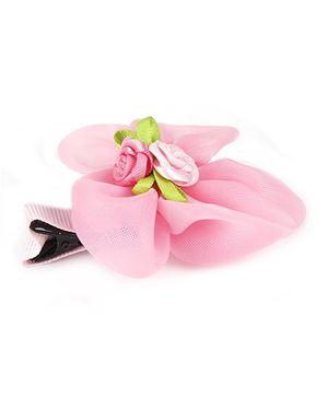 Angel Closet Hair Clips - Bright Pink