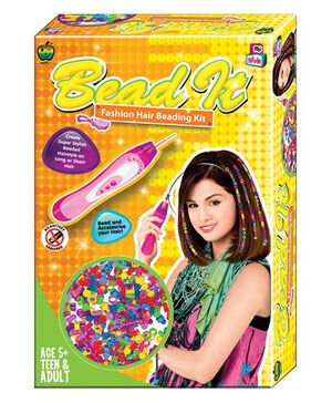 Apple Fun Bead It 3 Fashion Hair Beading Kit - Yellow