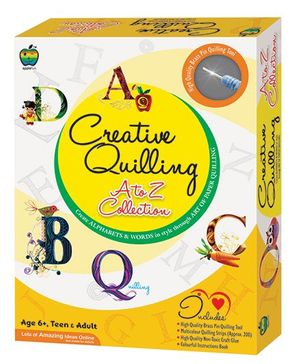 Apple Fun Creative Quilling A To Z Collection