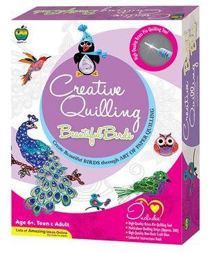 Apple Fun Creative Quilling Beautiful Birds