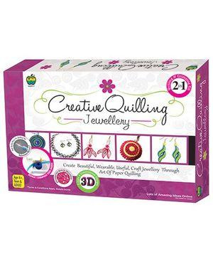 Apple Fun Creative Quilling Jewellery 2 in 1