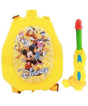 DealBindaas Holi Water Pichkari Back Pack Cartoon Tank Squirter F13 - Yellow
