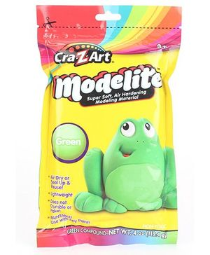 Craz Art Modelite Modelling Clay Green - 113 grams