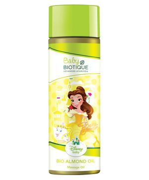 Baby Biotique Disney Princess Belle Bio Almond Massage Oil - 200ml