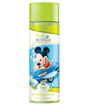 Baby Biotique Mickey Mouse Bio Green Apple Tearproof Shampoo - 190 ml