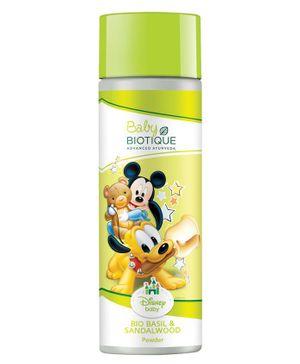 Baby Biotique Mickey Mouse & Friends Bio Basil & Red Sandalwood Powder - 150 gm
