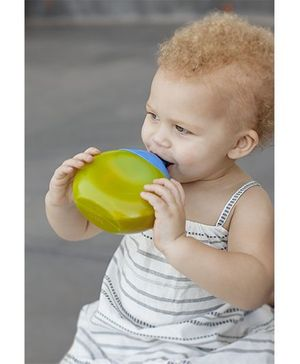 Boon Fluid Sippy Cup Blue and Green - 300 ml