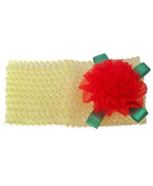 My World Of Crochet By Neelam Crochet Headband - Yellow