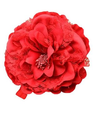 Bellazaara Trendy Headband For Little Girls - Red