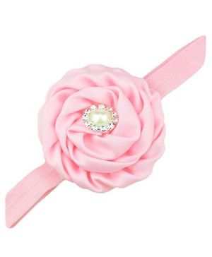 Bellazaara Trendy Headband For Little Girls - Light Pink