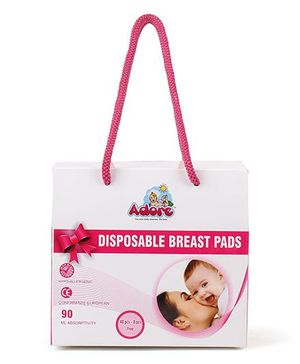 Adore Disposable Breast Pads - 48 Pieces