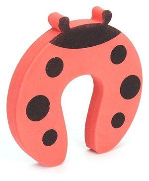 Adore Door Stopper Ladybug Design - Red