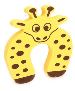 Adore Door Stopper Giraffe Design - Yellow