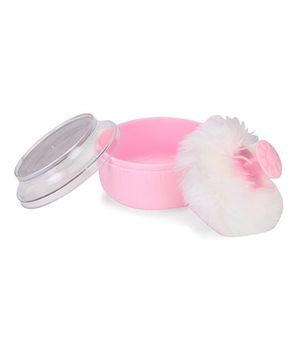 Adore Baby Powder Puff With Case - Pink