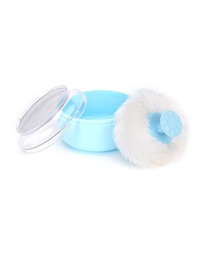 Adore Baby Powder Puff With Case - Blue