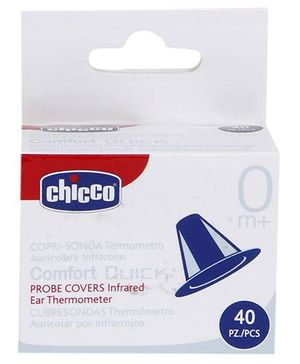 Chicco Probe Covers Comfort Quick Infrared Ear Thermometer - 40 Pieces