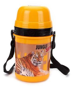 Jayco Sipper Water Bottle Tiger Print Orange - 350 ml