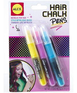 Alex Toys Hair Chalk Assortment Multicolor - 3 Peices