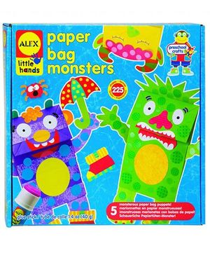 Alex Toys Paper Bag Monsters - Multicolor
