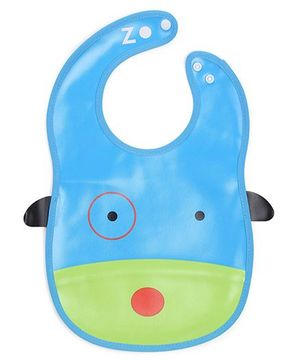 Abracadabra Bib Animal Design - Blue Green