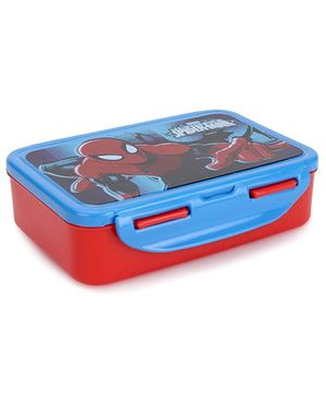 Cello Homeware Spiderman Lunch Box - Blue And Red
