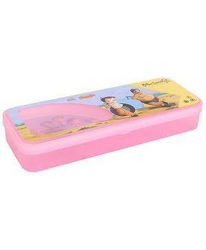 Chhota Bheem Translucent Finish Pencil Box - Pink