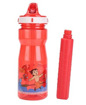 Chhota Bheem Cool Sipper Water Bottle Red - 500 ml