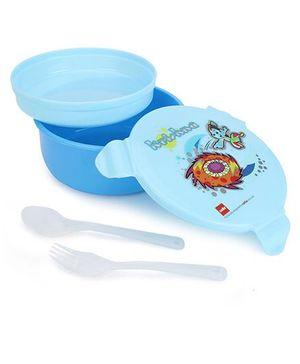 Cello Homeware Polo Round Lunch Box - Blue