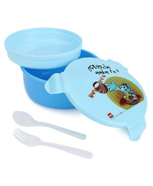 Cello Homeware Polo Round Lunch Box - Blue