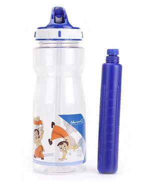 Chhota Bheem Water Bottle Blue - 500 ml