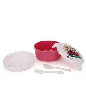 Cello Homeware Polo Lunch Box Round - Pink