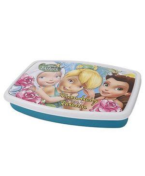 Cello Homeware Lunch Box Friendship Print - Blue Multicolor
