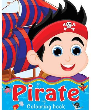 Pirate Coloring Book - English