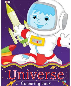 Universe Coloring Book - English